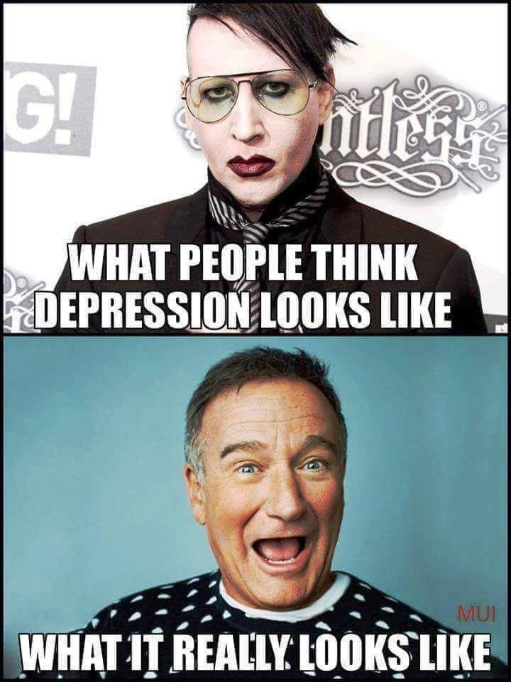 Как на самом деле выглядит депрессия